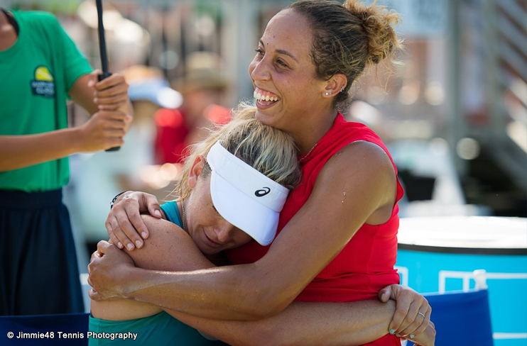 Madison keys sagra se campe em final disputada entre duas for Madison tenis de mesa