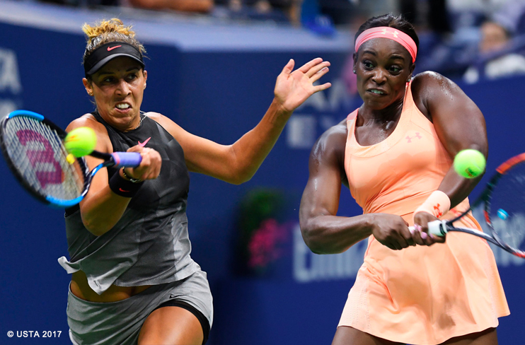 Stephens vs keys a final entre melhores amigas at for Madison tenis de mesa