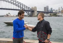 Lleyton Hewitt e Roger Federer