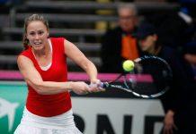 Michelle Larcher de Brito na Fed Cup