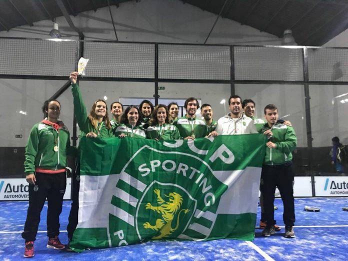 Sporting Clube de Portugal conquista o Campeonato Nacional de Padel por Equipas 2017