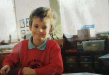 Andy Murray em criança