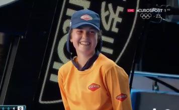Apanha Bolas Australian Open
