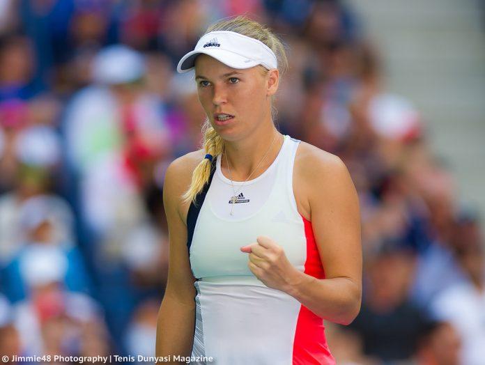 Wozniacki analisa vit ria penso que joguei bastante bem for Madison tenis de mesa