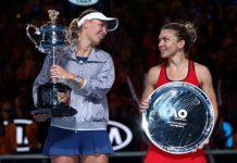 Caroline Wozniacki e Simona Halep