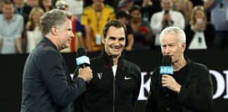 Roger Federer Will Ferrell John McEnroe