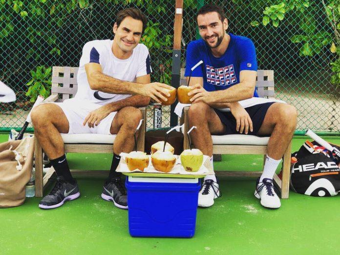 Roger Federer e Marin Cilic