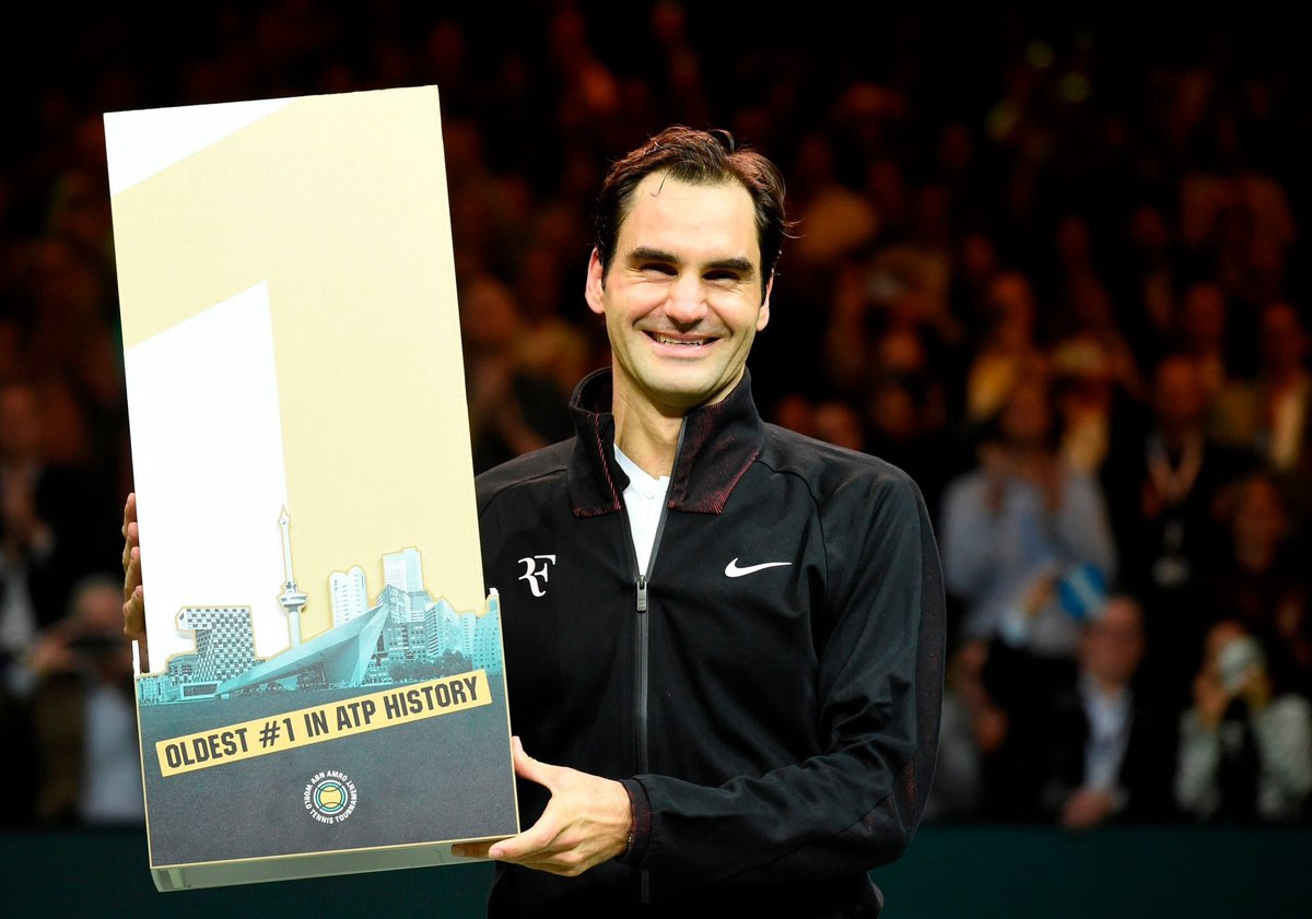 Roger Federer quer ser número 1 mais uma vez