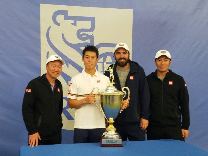 Kei Nishikori campeão em Dallas