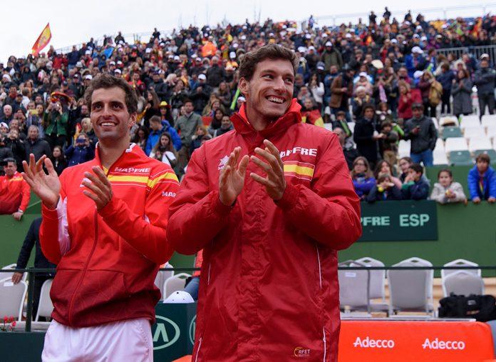 Pablo Carreno Busta e Albert Ramos