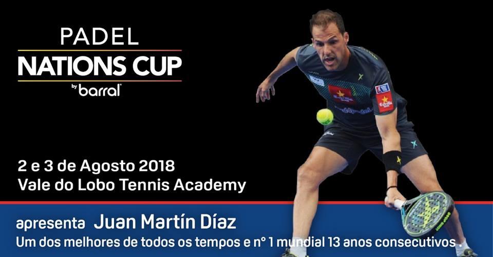 Padel Nations Cup  Juan Martín Díaz é o primeiro nome da equipa espanhola 7cecc050acfae