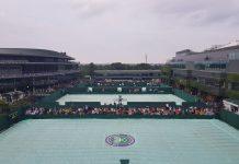 Chuva em Wimbledon