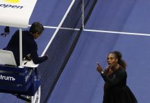 Carlos Ramos Serena Williams 2