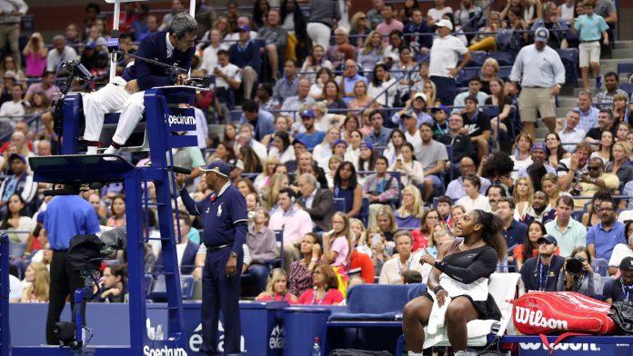 Carlos Ramos e Serena Williams