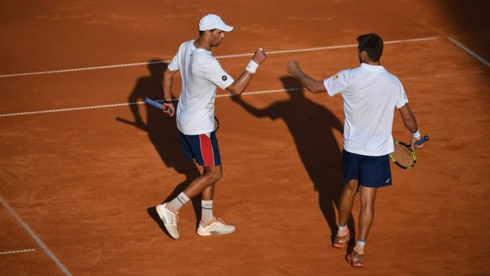 Mike Bryan e Ryan Harrison