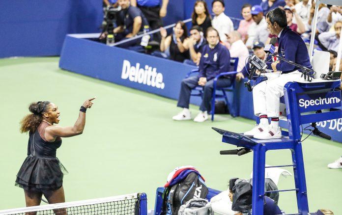 Serena Williams e Carlos Ramos