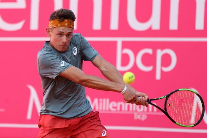 Alex de Minaur Estoril Open