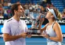 Federer e Bencic