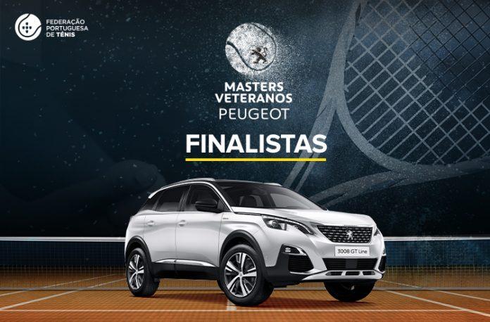Finalistas do Masters Veteranos Peugeot 2019