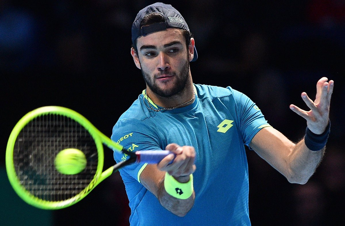 Berrettini Despede Se Do ATP Finals Com Uma P U00e1gina Na Hist U00f3ria