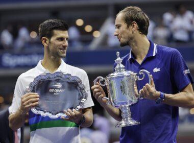 Daniil Medvedev elogia Novak Djokovic